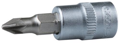 "KS Tools 1//4/"" Bit-Stecknuss PZ1"