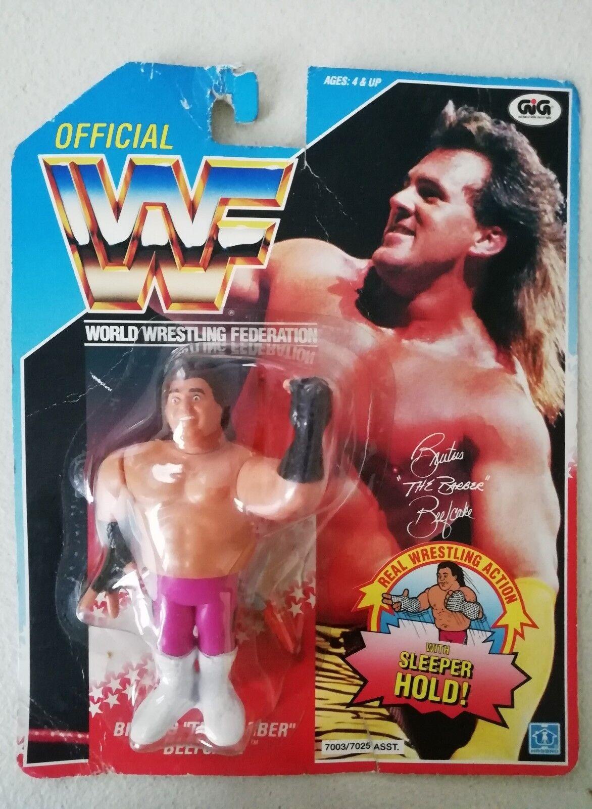 WWF World Wrestling Federation Brutus The Barber Beefcake Hasbro il barbiere