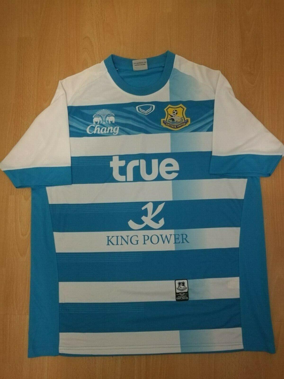 Pattaya United Camiseta de fútbol Tailandia 6L 3XL  Ultra Raro shirt trikot  moda