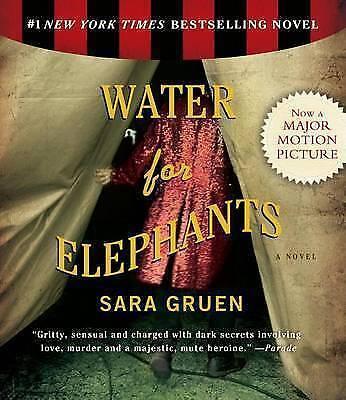1 of 1 - Sara Gruen WATER FOR ELEPHANTS 10 CD Audio Book