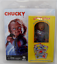 Near-Comme-neuf-in-box-NECA-Child-039-s-Play-GOOD-GUYS-chucky-5-5-034-Habille-Style-Retro-Action miniature 1