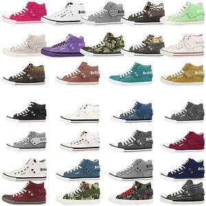 British-Knights-roco-BK-Zapatos-senora-caballero-High-Top-cortos-Unisex-Boots