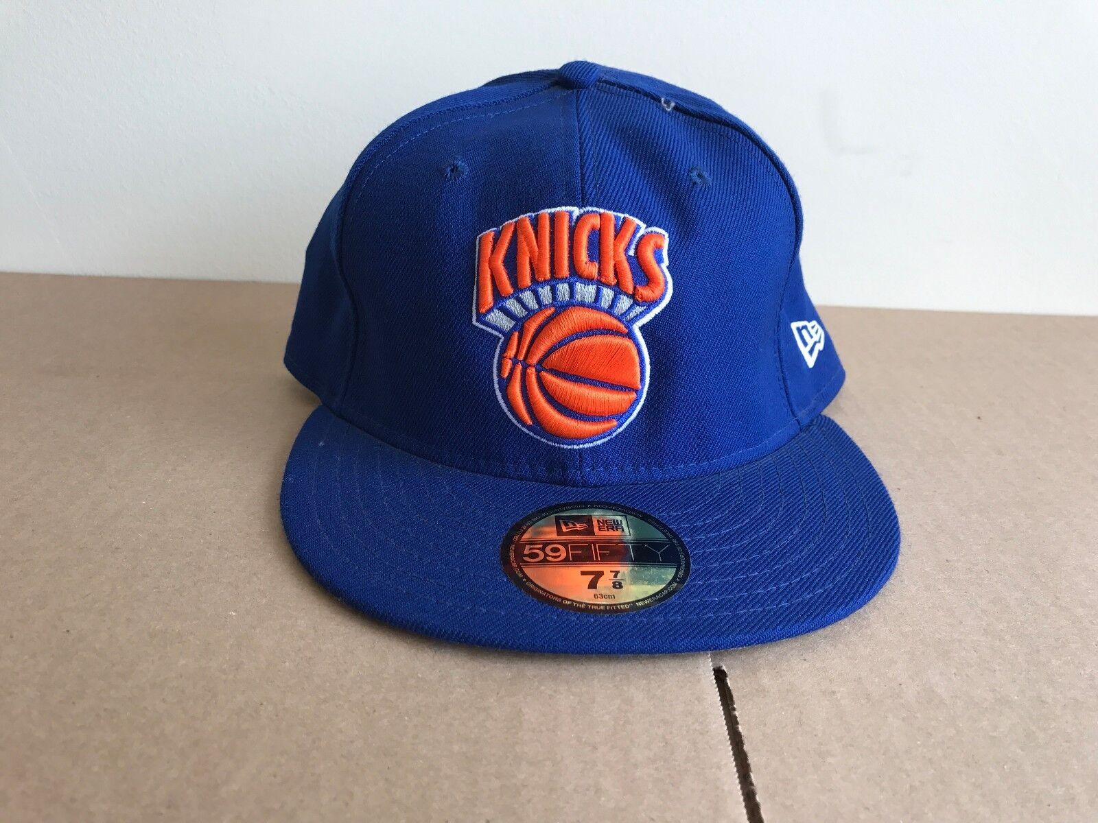 BLUE ORANGE KNICKS NEW ERA NBA NEW YORK KNICKS ORANGE 59 FIFTY HATS f48fd7