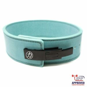 IPF Approved Strength Shop Blue 10mm Lever Belt Powerlifting