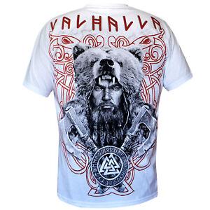 Sweatshirt Hoodi Valhalla Nordic Viking Drakar Vikings Warrior Odin Thor Wiking