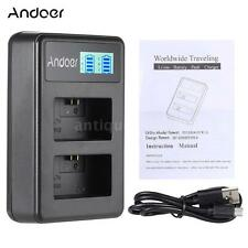 Battery Dual Charger for SONY A7 A7R A7S A5000 A6000 NEX3/5/5R/5T/6/7/C3/F3 N7Z5