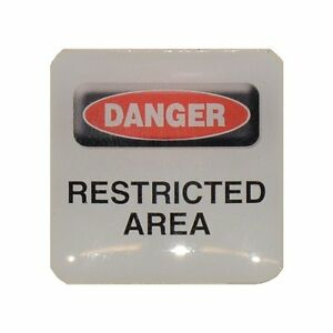 Case-Sticker-Danger-Restricted-Area