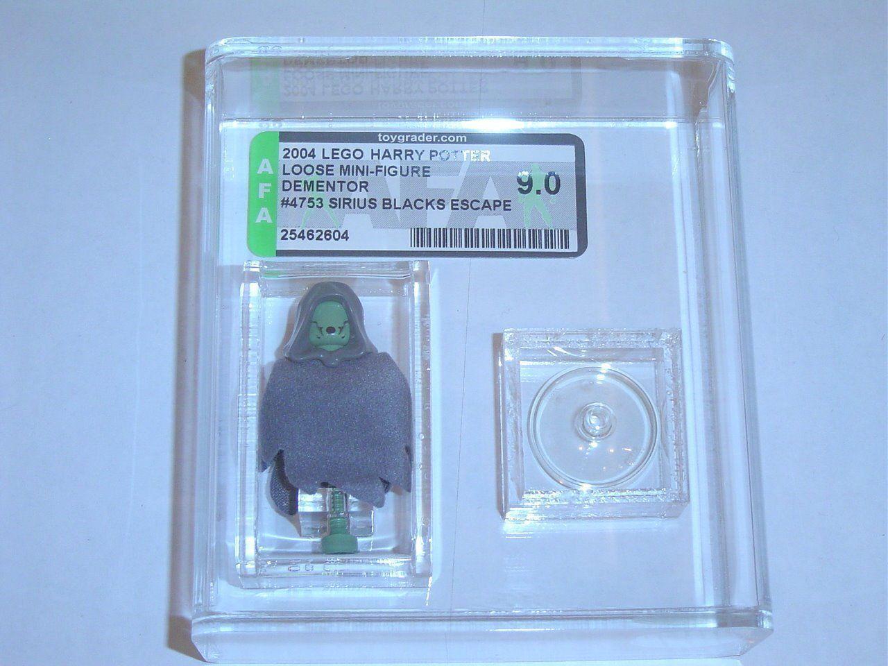 Lego 2004 Harry Potter Dementor Set 4753 GRADED AFA 9.00 - F32 NEW