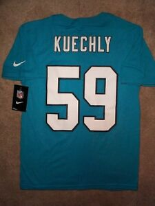 best sneakers 533af 99575 Details about ($28) NIKE Carolina Panthers LUKE KUECHLY Jersey Shirt YOUTH  KIDS BOYS (m-medium