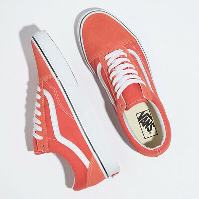 Vans Colour Theory UA Old Skool Skate Sneakers Shoes Coral VN0A38G1VKR Size 4 13 | eBay