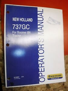 2009 NEW HOLLAND 737GC ROTARY CUTTER FOR BOOMER 8N FACTORY