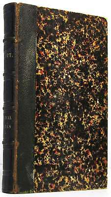 Poetical Works of Sir Walter Scott.Sir Walter Scott.Leather.Book.Good