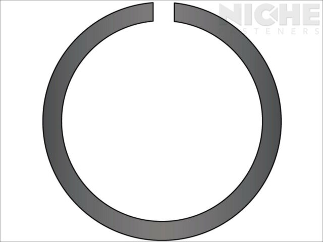 25 Pieces 38mm 304 Stainless Steel External Circlip Snap Retaining Ring