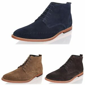 NEW-MENS-REAL-SUEDE-LEATHER-BOYS-DESERT-CHUKKA-LACE-UP-ANKLE-BOOTS-SHOES-SIZE