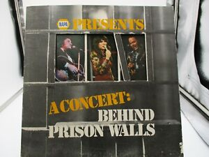 """NAPA Presents """"A Concert: Behind Prison Walls"""" POINTED STAR RECORDS VG+ c VG"""