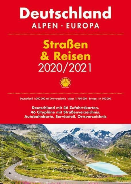 Shell Strassen Reisen 2020 21 Deutschland 1 300 000 Alpen