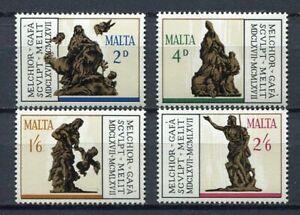 29780) Malta 1967 MNH New Sculptures 4v