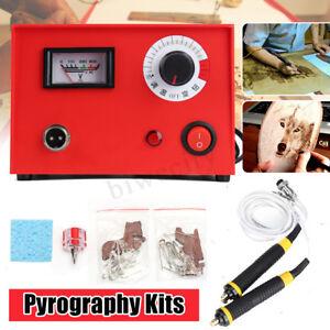 50W-220V-Multifunction-Pyrography-Machine-Wood-Burning-Pen-Hobby-Art-Craft-Tool