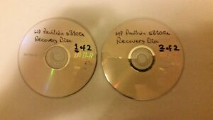 system recovery disc hp pavilion
