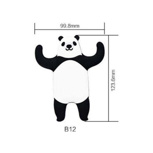 1Pcs Cute Animal Magnetic Refrigerator Sticker Home Fridge Magnet Hanging Hook