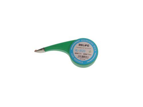 Support RELIFE entlötlitze 3,5 mm Desoldering Wire BGA PCB Wick