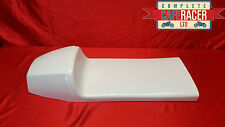 TRITON LONG STYLE CAFE RACER SEAT NEW & UNUSED IN WHITE - MAY FIT 2 PEOPLE