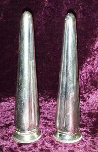 Elkington-Silver-plate-electroplate-Art-Deco-antique-salt-amp-pepper-shakers
