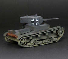 WWII Russian T-26 German Capture 1/72 Tank Model Finished Non Diecast S-Model