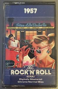 1957-Time-Life-The-Rock-039-n-039-Roll-Era-Cassette-Tape-MINT-SEALED