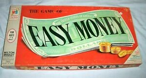 VTG-Milton-Bradley-MB-Easy-Money-Board-Game-1956-Edition-4620-Monopoly-Style