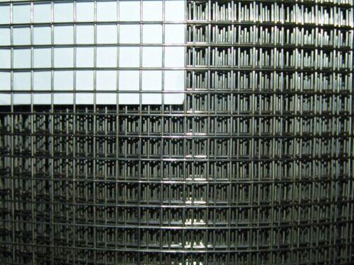 Extérieurou Fil Acier Inoxydable v2a 1x1m//9,5 x 9,5 mm//1,2 mm filaire