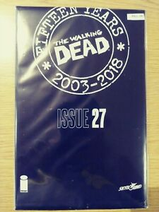 WALKING-DEAD-27-NM-15-YEAR-ANNIVERSARY-BLACK-POLYBAGG-SEALED-PA11-341