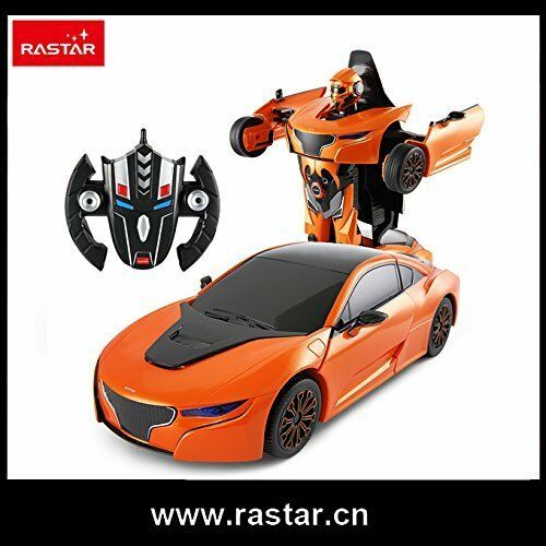 Rastar Transformable Transforming R C Car 74720-  1 14 -  2.4Ghz RS - Brand New