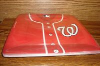 Mlb Washington Nationals Baseball Party 10 1/2 In Plates 18 Count Package