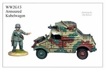 German Armoured Kubelwagen Sculpted by Michael & Alan Perry WW2 G13