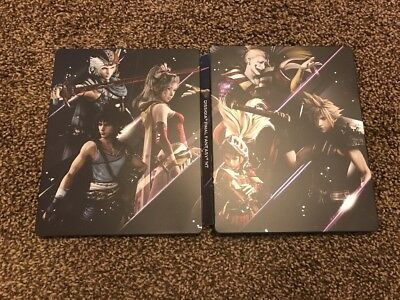 Video Games & Consoles Independent Dissidia Final Fantasy Nt Steelbook Cloud Kefka Terra Slip Cover Included No Gam Bright In Colour