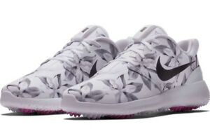 7543f3a2fa8a Nike Roshe G Men s Golf Shoes MAGNOLIA Print Masters Limited Edition ...