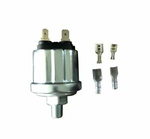 "0-100 psi Oil pressure sender 240-33 ohms low 20 psi alarm  1//8""-27 NPT  Thread"