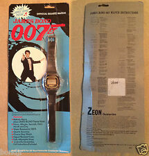 1987 JAMES BOND Zeon Quartz Watch