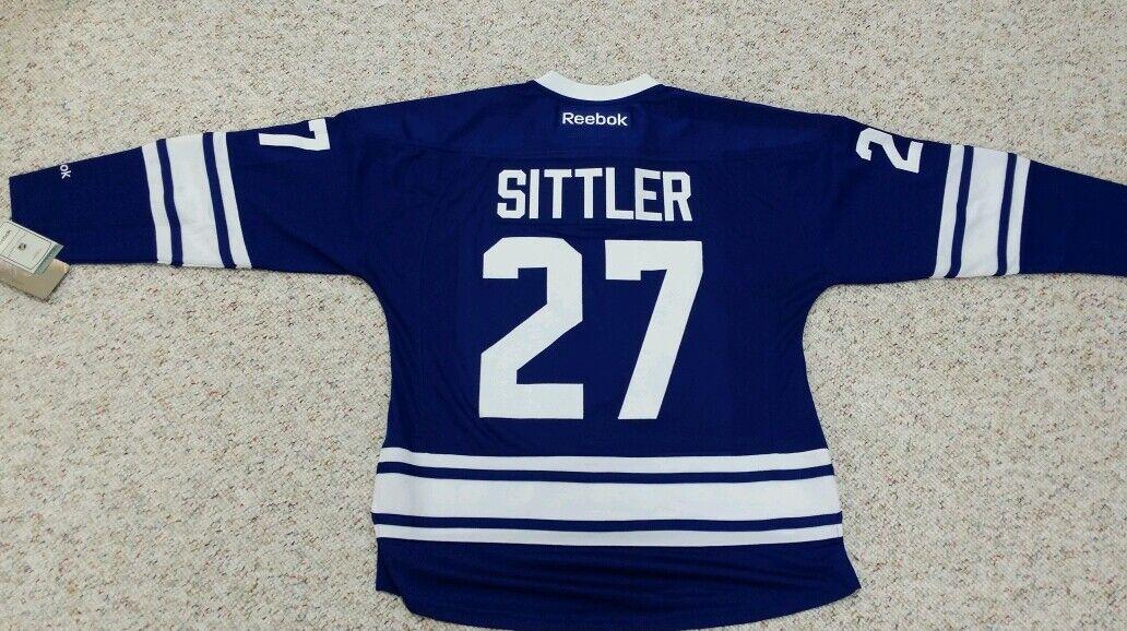 DARRYL SITTLER Reebok Premier Toronto Maple Leafs 3rd Jersey ALUMNI GAME