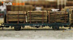 BULKSCENE-SMALL-DIAMETER-MODEL-TIMBER-LOGS-FOR-OO-HO-GAUGE-WAGONS-BULK-PACKS