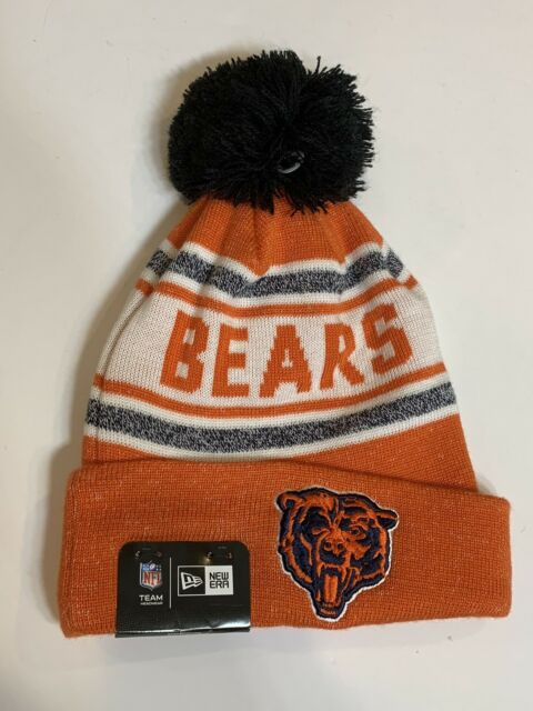 89d342af0c5 ... New Era Adult Chicago Bears Beanie NFL Toasty Cover Sport Knit Pom  Winter Hat ...