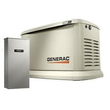 Generac 7043 Standby Generator 22KW Guardian WiFi +200a Auto Transfer Switch New