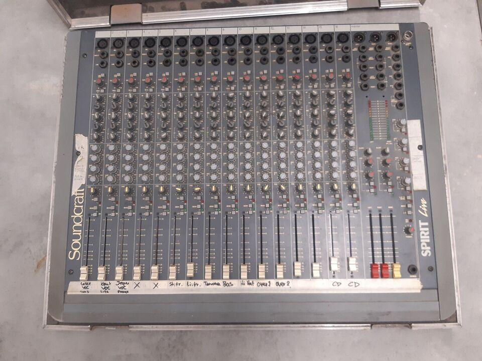 Mixerpult 16 kanal, Soundcraft Live