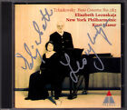 Elisabeth LEONSKAJA Signiert TCHAIKOVSKY Piano Concerto No.2 & 3 Kurt MASUR CD