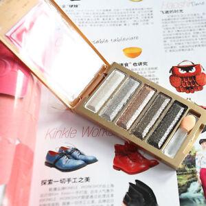 Glitter-Smoky-Eyeshadow-Palette-Eyes-Makeup-Schimmer-Supply-Farbe-Metallic-C0K5