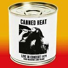 Canned Heat - Live in Concert 1979 Parr Meadows Long Island CD