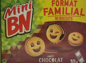Lot revendeur destockage De 200 Mini BN Chocolats Dlc Longue