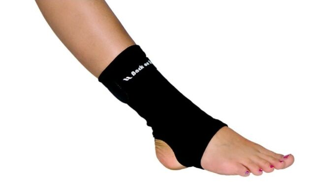 Back On Track Therapeutic Ankle Brace, Black, Multiple Sizes Available, New