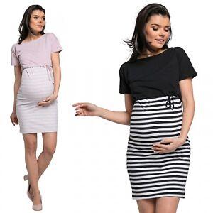 4bf2d97532248 Details about Happy Mama. Women's Nursing Two Piece Dress Separate Top  Pregnancy. 127p